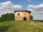 Нов. Рудица, часовня-усыпальница Дыбовских, около 1825 г.