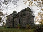 Оболь (Сеннен. р-н), церковь Успенская (дерев.), 1840-е гг.?