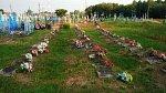 Огдемер, кладбище солдат 1-й мировой войны, 1915-18 гг.