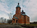 Огородники (Жабин. р-н), церковь Вознесенская, 1990-97 гг.