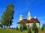 Олехновичи, церковь Рождества Иоанна Предтечи (дерев.), после 1990 г.?