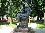 Орша, памятник Владимиру Короткевичу