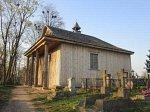 Ошмяны (город), кладбище католическое:   часовня (дерев.), 2005 г.
