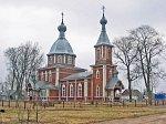 Остров (Ляхов. р-н), церковь св. Петра и Павла (дерев.), 1910 г.