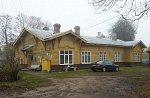 Парафьяново, железнодорожная станция:  казарма, 1903 г.