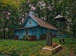 Почапово (Баран. р-н), часовня правосл. св. Николая (дерев.), XIX в.