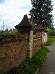 Подороск, усадьба: ограда, XIX в.