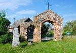 Полочаны, кладбище: брама (руины), XIX в.
