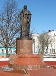 Полоцк, памятник Евфросинье Полоцкой, 2000 г.