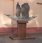 Полоцк, памятник кривичам, 2001 г.