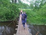 Полоцк, мост подвесной (дерев.)