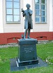 Поставы, памятник Константину Тызенгаузу