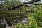 Принта, мост подвесной (дерев.)