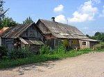 Прошки, дом Рацковских (самый северный жилой дом в Беларуси)