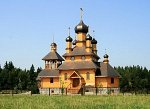 Птичь (Пухов. р-н), церковь св. Иоанна Крестителя (дерев.), 2007 г.