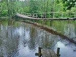Ручица, мост подвесной (дерев.), после 1970 г.