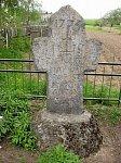 Рупейки, каменный крест, XVIII в.?