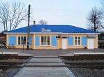 """Русиновичи (Ляхов. р-н), железнодорожная станция """"Рейтанов"""" (дерев.), 1880-е гг.?"""