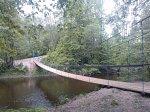 Сарья, мост подвесной (дерев.), 2014 г.