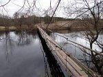 Щипачи, мост подвесной (дерев.), после 1970 г.?