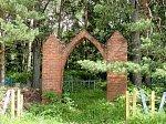 Селище (Ушачский р-н), кладбище христианское: брама, нач. XX в.