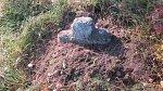 Сеньково, каменный крест