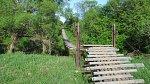 Шарки, мост подвесной (дерев.)