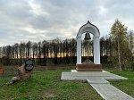 Синявка, памятник сестрам милосердия, погибшим в 1-й мировой войне, 2019 г.