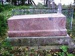 Слоним, кладбище христианское: могила генерала М. Левицкого