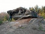 Старина (Дятлов. р-н), ледниковый конгломерат и песчаник