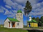 Суринка, церковь: колокольня с крестильней, 1995 г.