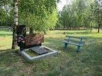 Телеханы, кладбище христианское: могила матери маршала Рокоссовского