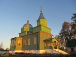 Турки (Бобруй. р-н), церковь Троицкая (дерев.), после 1988 г.