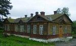 Верейцы, железнодорожная станция: казарма (дерев.), кон. XIX-нач. XX вв.