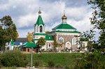 Вишнево (Волож. р-н), церковь св. Козьмы и Демьяна, 1865 г.