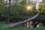 Войдени, мост подвесной (дерев.)