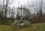 Ворони (Волож. р-н), крест придорожный