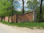 Вселюб, усадьба: парк: ограда, кон. XIX-нач. XX вв.