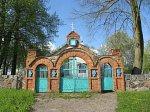 Загорье-Сенненское, церковь: брама, кон. XIX в.