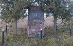 Заполье (Лидский р-н), памятный знак Игнатию Домейко, 1995 г.