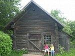 Заславль, музей: кузница (дерев.)