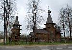 Звенчатка, церковь св. Василия Великого (дерев.), 2003 г.